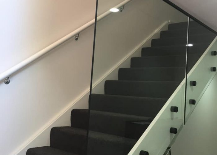 Glass Balustrade Staircase | The Stair Factory