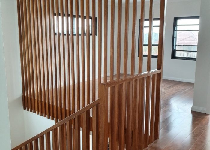 Timber Staircase Screens | The Stair Factory